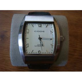 Reloj Code. Elegante Y Moderno. All Stainless Steel.
