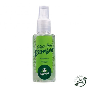 Colonia Verde Bamboo Cachorro Gato 120ml Biodegradavel