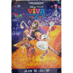 Pôster Cartaz Viva - A Vida É Uma Festa 93x63 Cm
