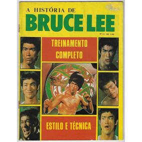 Brasil Anos 90 Revista A História De Bruce Lee Nº 11