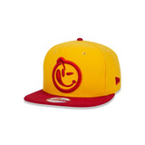 Bone 950 Original Fit Yums Aba Reta Snapback Amarelo New Era 47247e07571