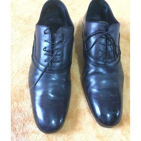 Sapato Louis Vuitton Social Masculino Couro Preto