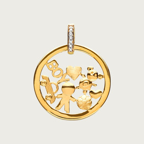 Medalha Modelo Mandala Em Ouro E Platina E Diamantes - Joias e ... f388b15c38