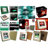 Procesadores Laptop Amd Turion Sempron Phenom Duron Athlon