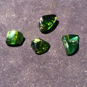 Turmalina Piedra Preciosa Verde Esmeralda Brasil 7.0 Ctw