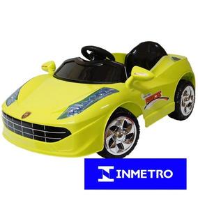 Carrinho Mini Carro Elétrico Infantil Criança Bw005 Ferrari