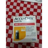 Accu-chek Fastclix Lancetas 100+2