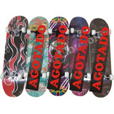 Skate Patineta Skateboard Profesional 7 Capas Rulemanes Abec 6b1bd125c11