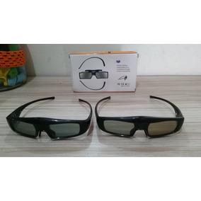 Óculos 3d Ativo Panasonic Viera Lote 3 Unidades
