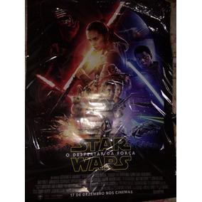 Poster/cartaz Oficial De Star Wars - O Despertar Da Força