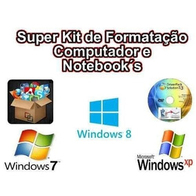 Super Kit De Formatação De Computador E Notebook