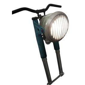 Luminária Customizada - Frente De Moto Antiga (60s)