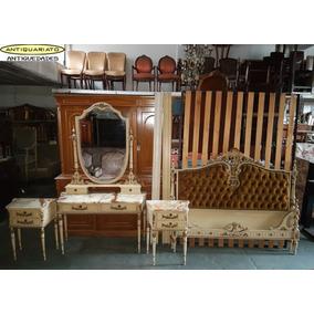 Dormitorio Estilo Frances Luis Xvi Antiguo Vestidor Mesitas