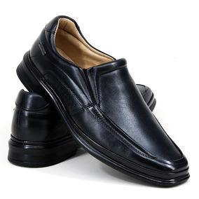 3e22604bb Sapato Social Mafisa Couro Legítimo Tradicional Preto - Sapatos no ...