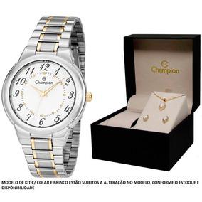 d5f67aceab4 Relogio Feminino Classico Champion - Relógios De Pulso no Mercado ...