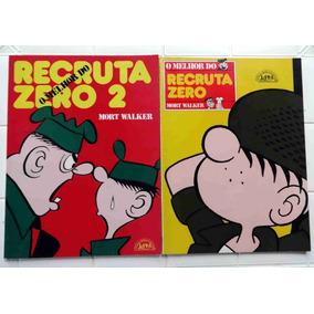 O Melhor Do Recruta Zero Volume 1 E 2 - Mort Walker - L&pm
