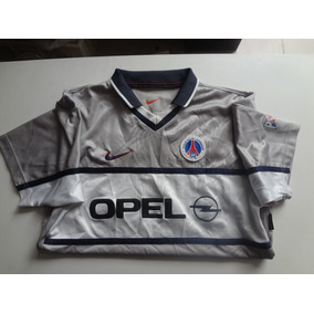 Camiseta Paris Saint Germain Cinza Nike Opel