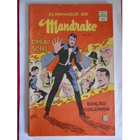 Almanaque Do Mandrake - 1968 - (mb/ótimo) - Frete: Grátis