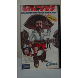 Vhs Charrito - Herói Mexicano - Chaves