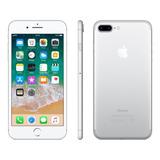 iPhone 7 Plus 32gb De Vitrine Impecável + Capa E Película
