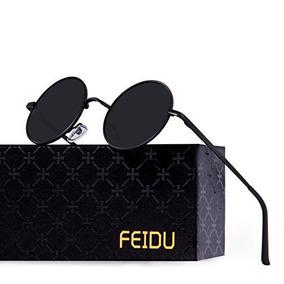 Feidu Gafas De Sol Redondas Polarizadas Redondas Para Hombre 3bb978ffdad0