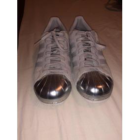 Tenis adidas Edición Concha Metálica #4