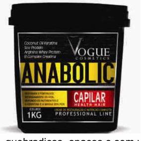 Anabolic Vogue - Produtos de Cabelo no Mercado Livre Brasil ed48770e2d
