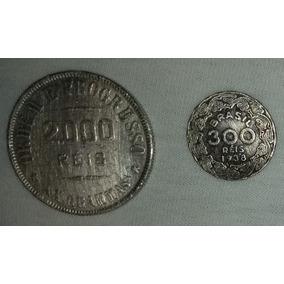 Moedas Antigas Reis 1908 A 2009 Bem Antigas