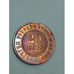 Moeda Rara 20 Réis 1896 Com Brilho