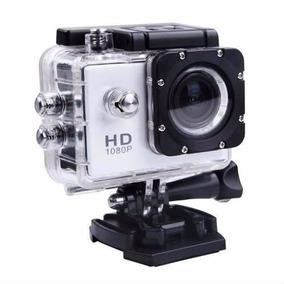 Camera Filmadora Prova D Água Sport Hd Sport Capacete