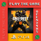 Call Of Duty Black Ops 4 Ps4 Digital Juga C/ Tu Perfil 1°