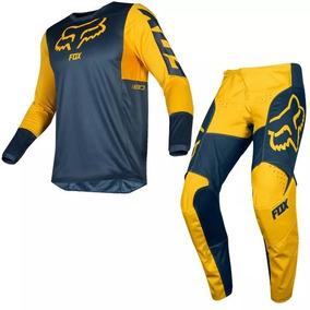 Calca Fox 180 Camisa Fox - Roupa para Motociclista no Mercado Livre ... 4ccedb56a22