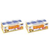 Kit Com 2 Caixas Paçoca Paçoquita Rolha C/ 100 Unid Em Cada