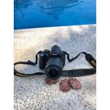 Camara Nikon D5000 Sin Batería ¿