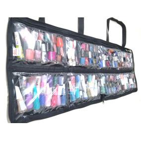 Bolsa Porta Esmaltes Manicure Maquiadora Profissional
