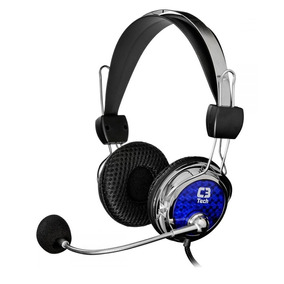 Fone De Ouvido Headset Gamer C3tech Pterodax Pc Notebook