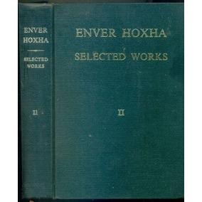 Livro Selected Works 1948-1960 Enver Hoxha