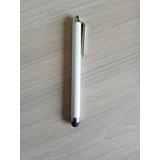 Pen Pluma Touch Para Celulares Blanco Y Rosado