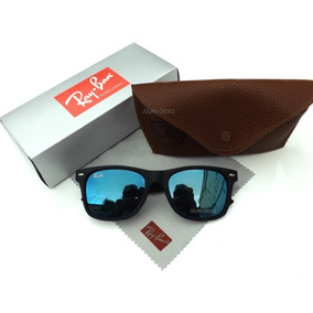 2bd4506f071c4 Wayfarer Fake, Azul Armacoes - Óculos no Mercado Livre Brasil