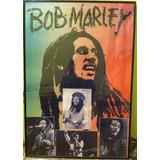 Cuadro Grande Original Perfecto Montado Bob Marley 50.000