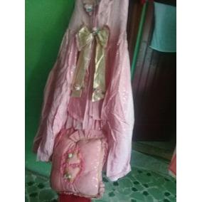 Vestido De Xv Color Palo De Rosa Incluye Su Almohada