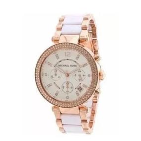 Relógio Michael Kors Rosé Com Fundo Branco - Relógios De Pulso no ... c97a27b29f