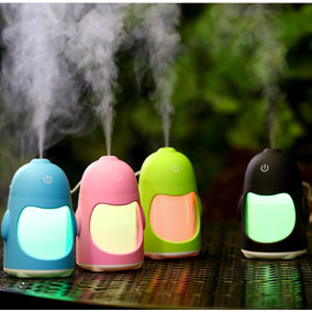 Humidificador Difusor Aromas 150ml Aromaterapia Penguin