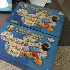Box Premium + Álbum Completo Mickey 90 Anos Pra Colar