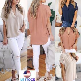 07af0bd03ab22 Blusa Amarrada Un Nudo Adelante - Camisas en Mercado Libre Colombia