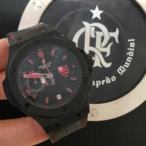 Hublot Big Bang Flamengo Flabang - 44mm Completo Impecável