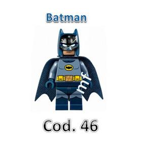 Bloco De Montar Batman(roupa Azul), Compatível Ao Lego