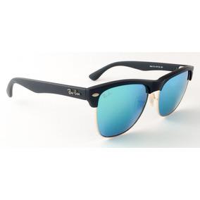 eb4cd9612cb9b Lentes Clubmaster Azul Animal Print - Gafas De Sol Ray-Ban en ...