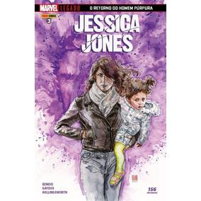 Jessica Jones-ed 3-marvel Legado: O Retorno Do Homem Púrpura