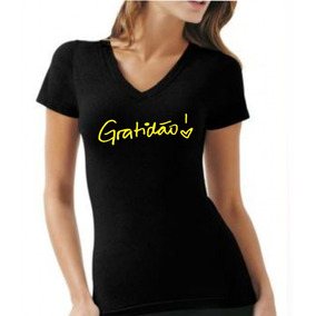 50f529ce8e Camisetas Femininas Gospel - Camisetas Manga Curta para Feminino no ...